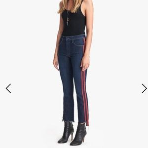 Mother Insider Crop Step Fray Speed Racer Jeans 27